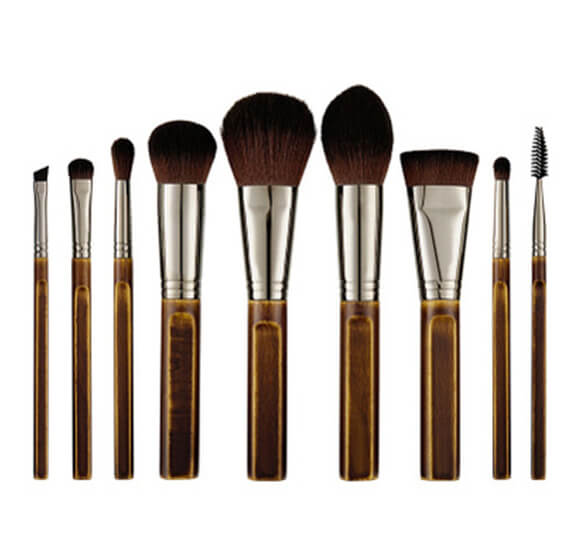 MB012 9 pcs makeup brush set5