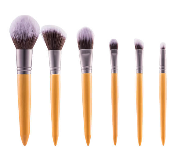 MB014 6 pcs makeup brush set1