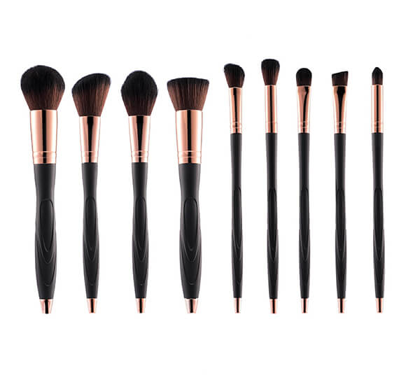 MB015 10 pcs makeup brush set 2