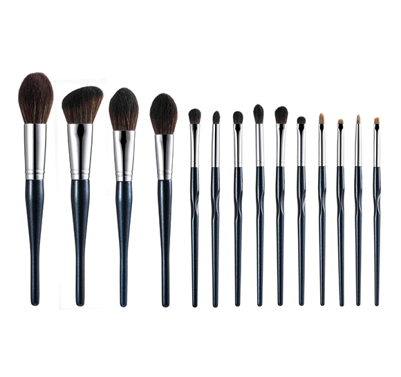 MB017 14 pcs makeup brush set6