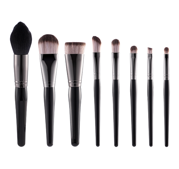 MB018 8 pcs makeup brush set1