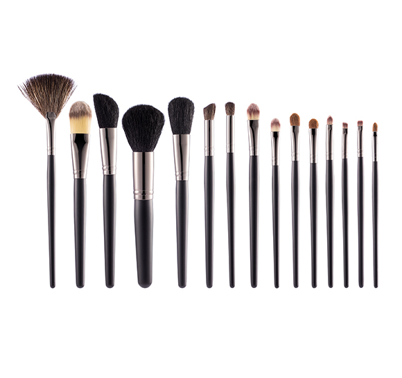 MB020 15 pcs makeup brush set5
