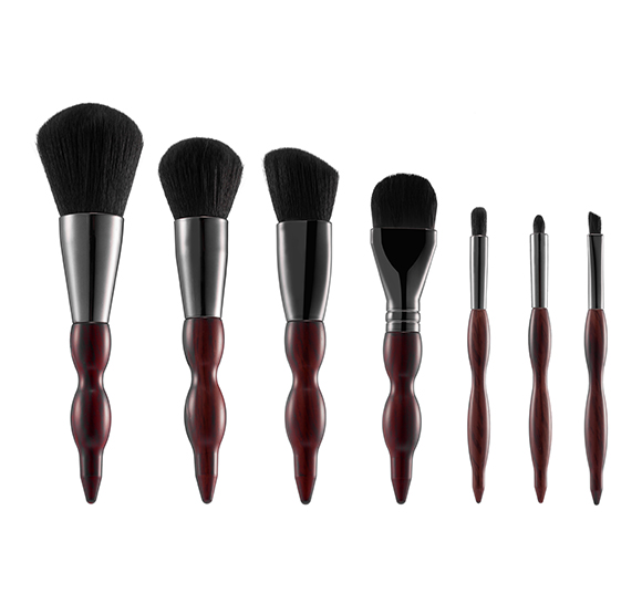 MB035 7 pcs makeup brush set5