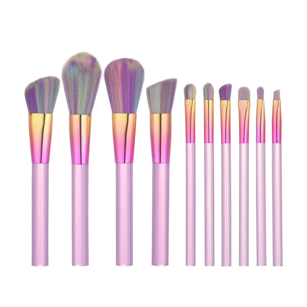 10 pcs makeup brush set MB074