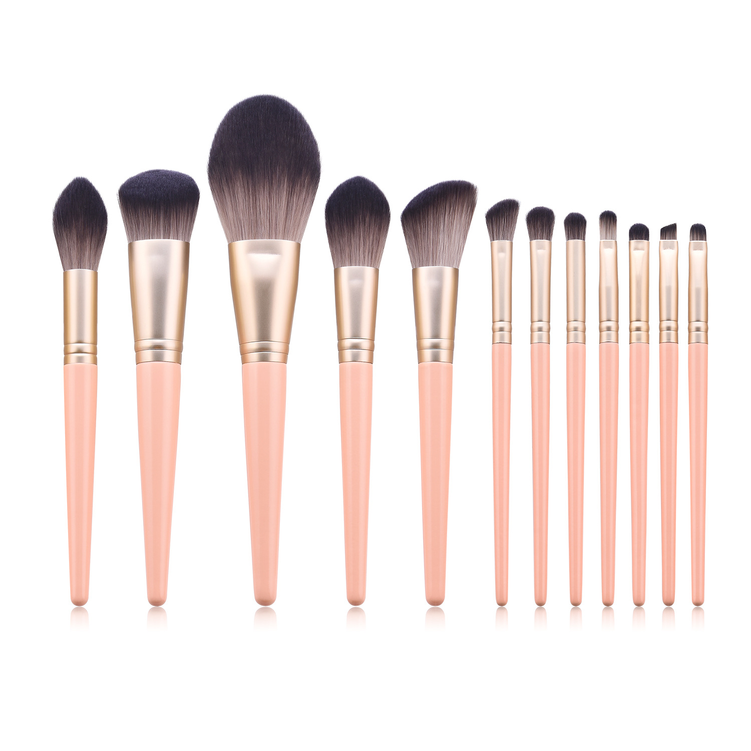 12 pcs makeup brush set MB086