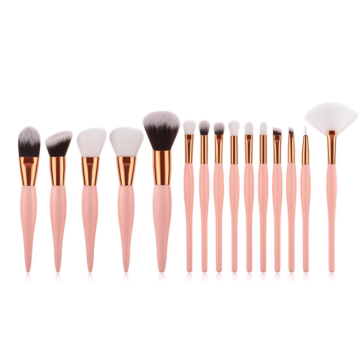 15 pc makeup brush set MB088