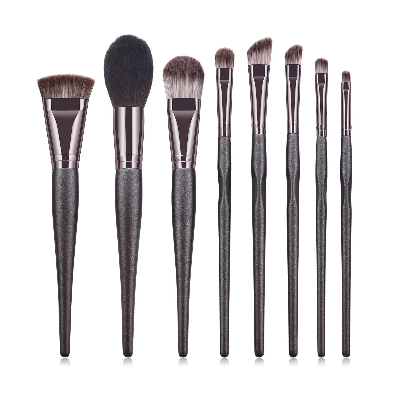 8 pcs makeup brush set MB092