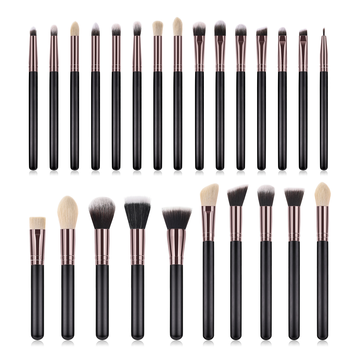 25 pcs makeup brush set MB093