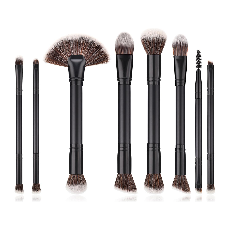 8 pcs Duo end makeup brush set MB097