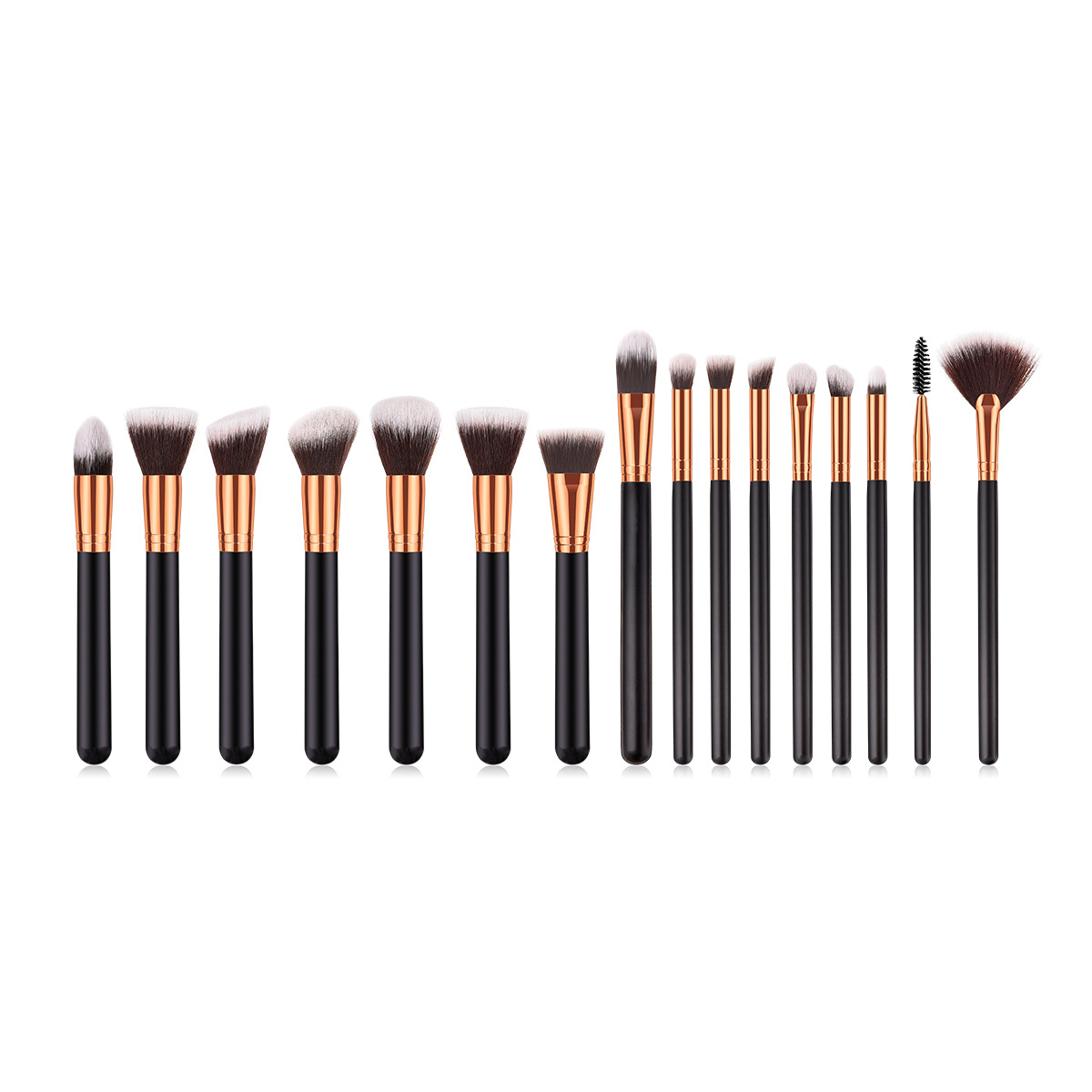 16 pcs makeup brush set MB109
