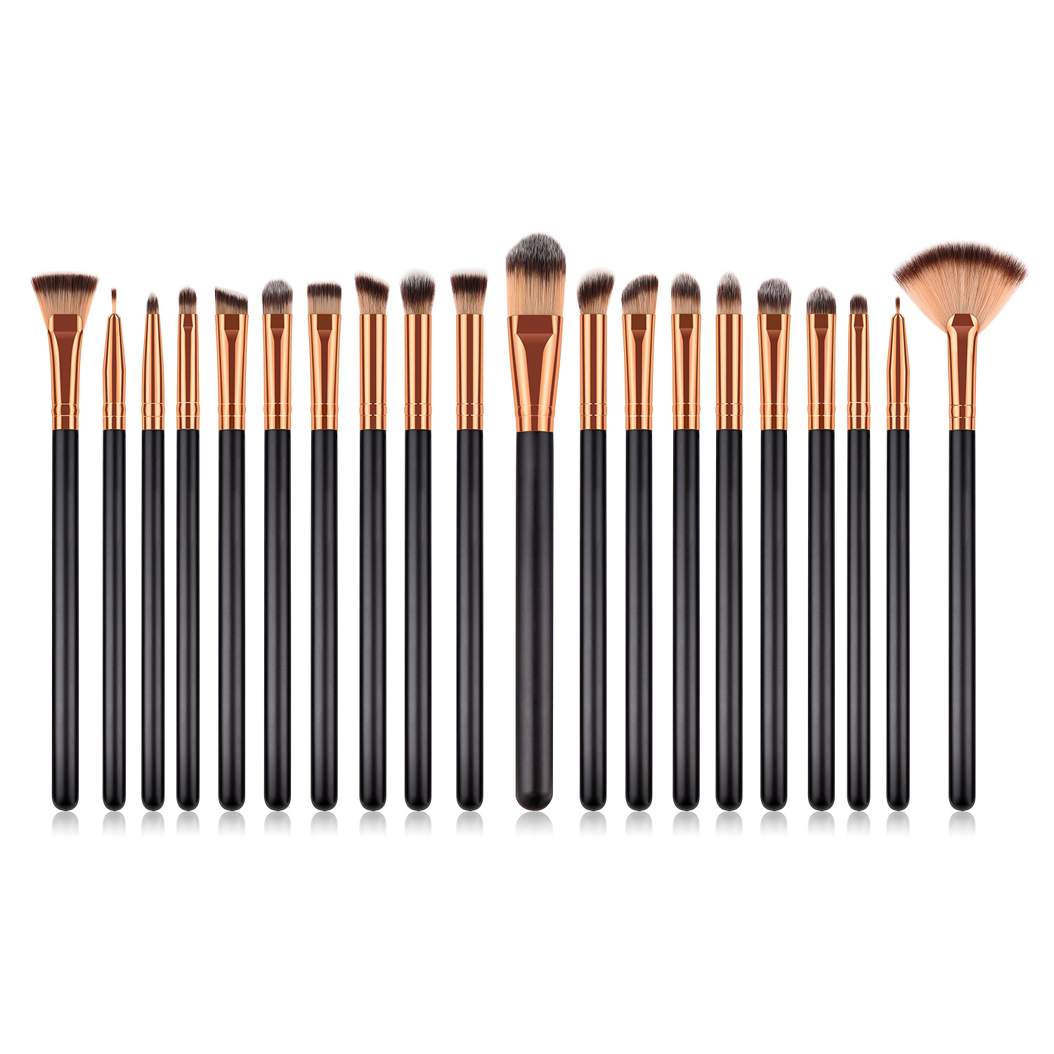 20 pcs makeup brush set MB114
