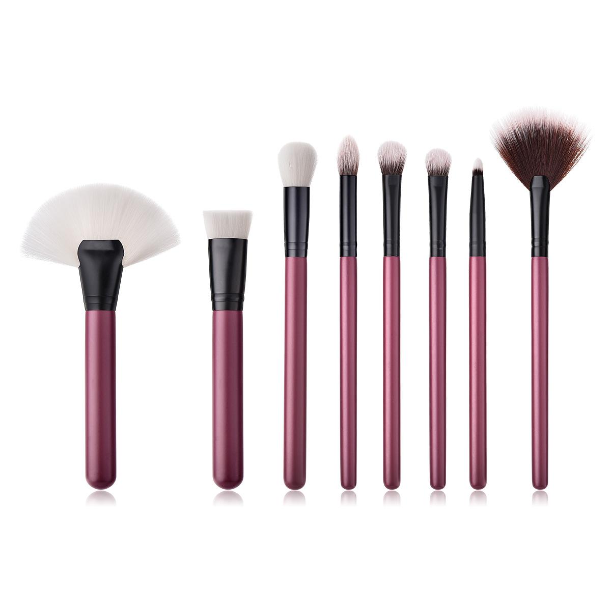 8 pcs makeup brush set MB122