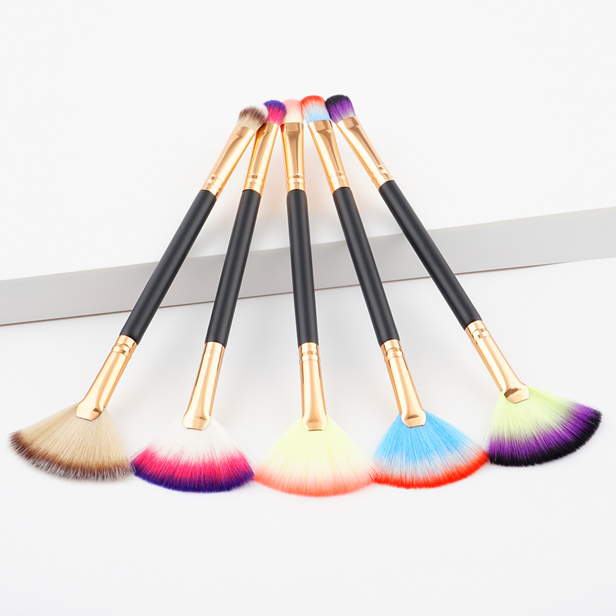 Duo end makeup brush